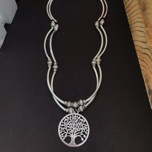 """Handcrafted 21""""Tree of Life bracelet/necklace."""